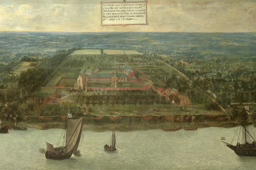 The St. Bernard Abbey in Hemiksem by Jan Wildens, 1616