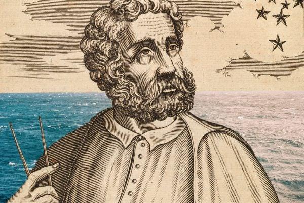 Illustration of Ferdinand Magellan