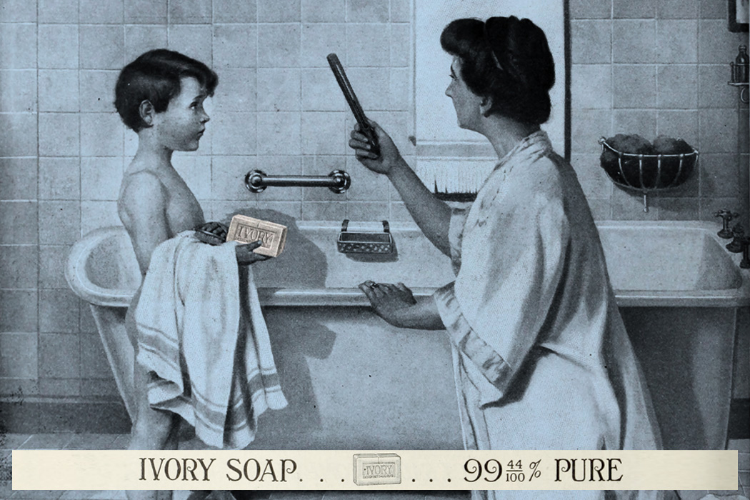 An advertisement for Ivory Soap from the Christian Herald, 1913