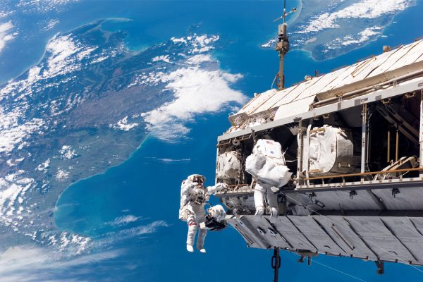 A Mission STS-116 spacewalk