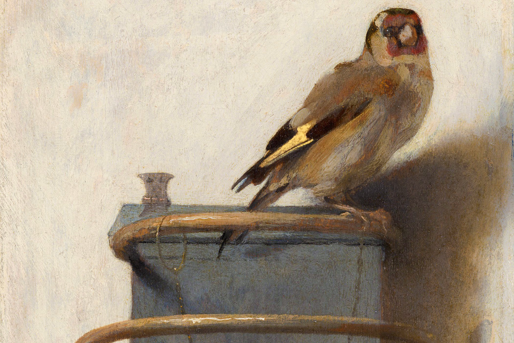 The Goldfinch by Carel Fabritius, 1654