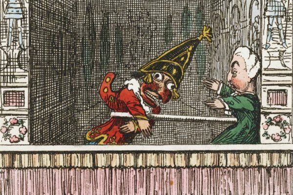Punch and Judy by George Cruikshank, 1828