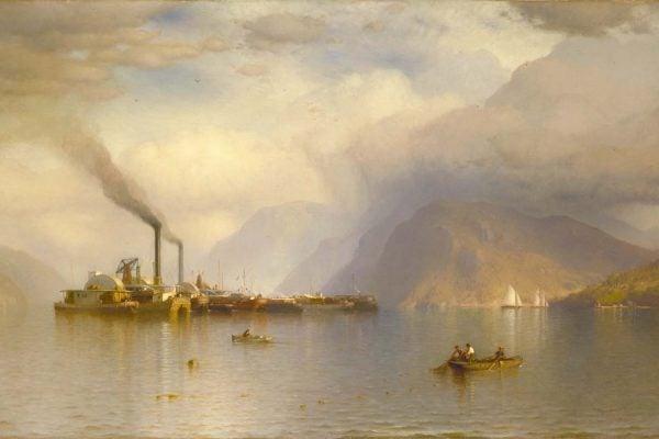 Storm King on the Hudson by Samuel Colman, 1866