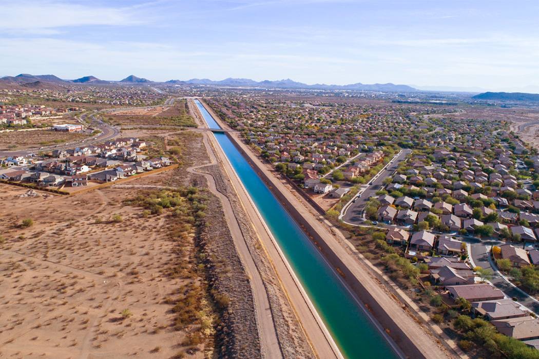 Central Arizona Project (CAP) Canal, Phoenix, AZ