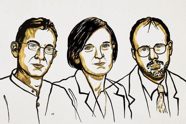 Abhijit Banerjee, Esther Duflo and Michael Kremer, 2019 Laureates in Economic Sciences