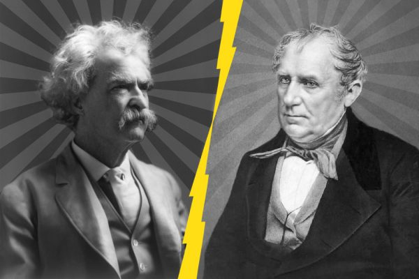 Mark Twain and James Fenimore Cooper