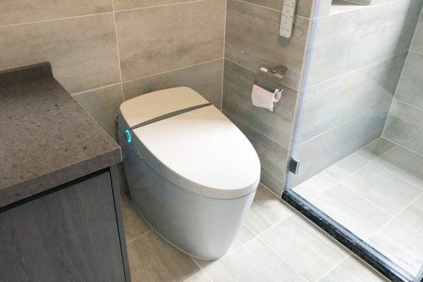 A smart toilet