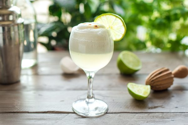 Pisco Sour Cocktail