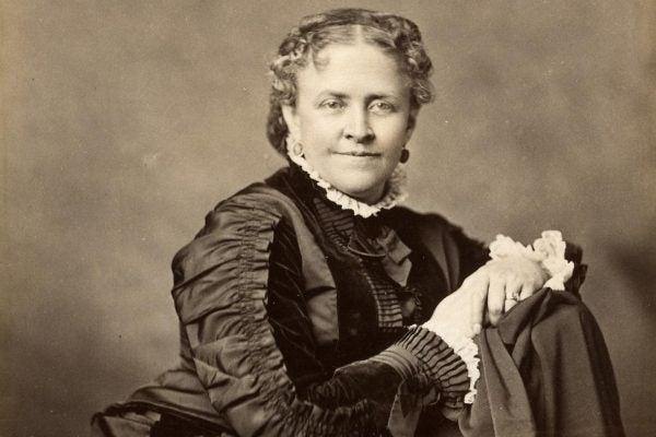 Helen Hunt Jackson, ca. 1870-1880.