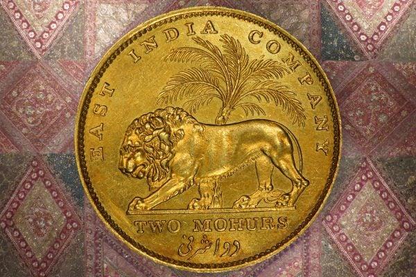 India 1835 2 Mohurs