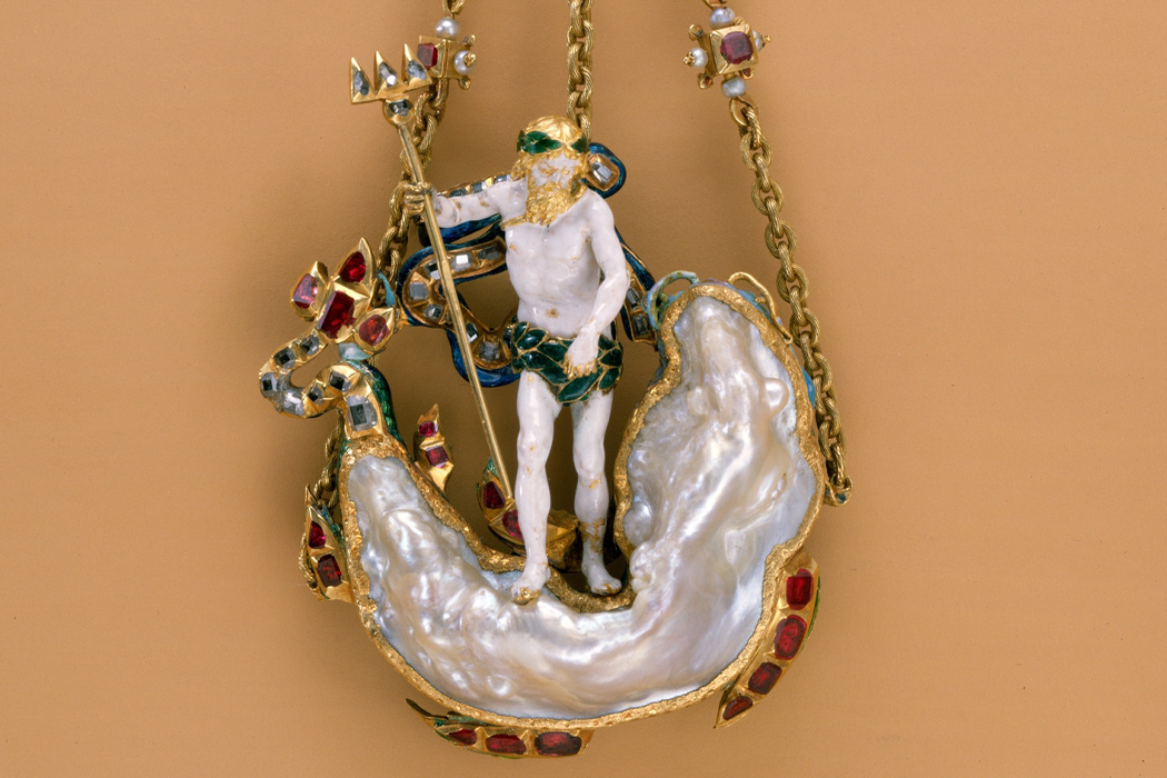 Pendant in the Form of Neptune and a Sea Monster