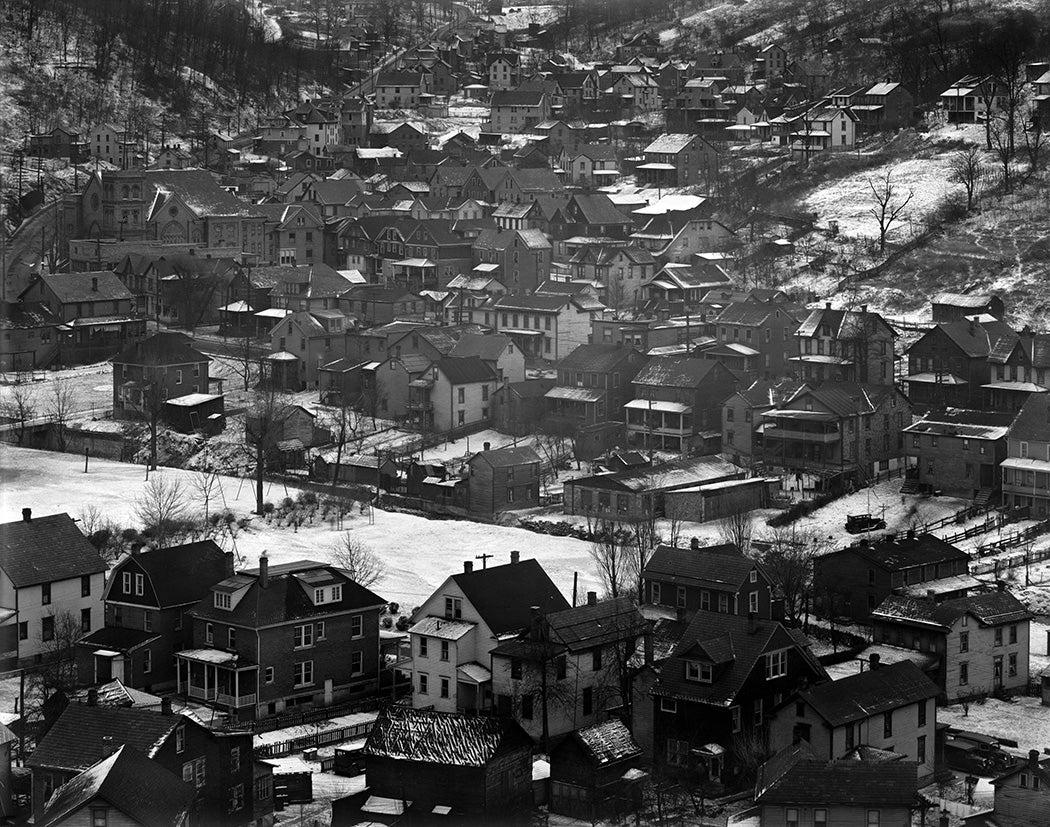 Johnstown housing, Pennsylvania, 1935 by Walker Evans