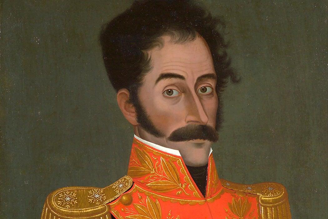 Simón Bolívar by José Gil de Castro