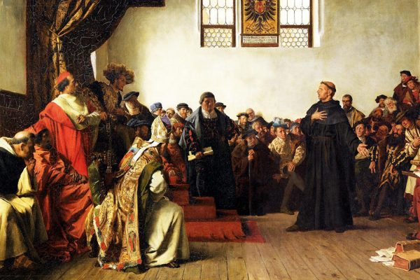 Luther at the Diet of Worms by Anton von Werner