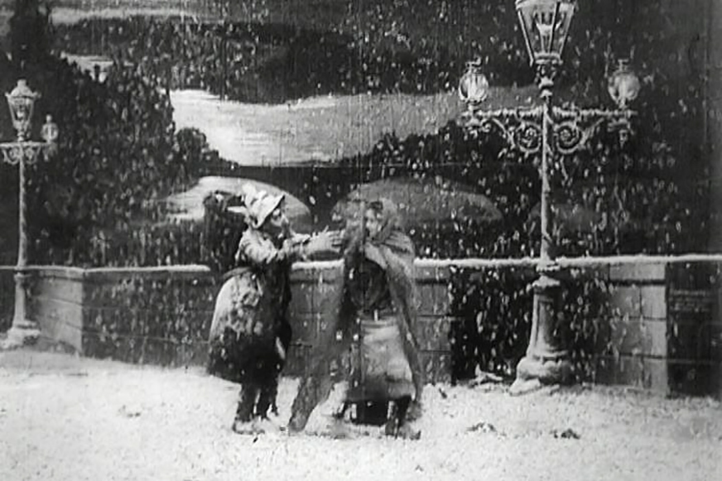 A scene from The Christmas Angel