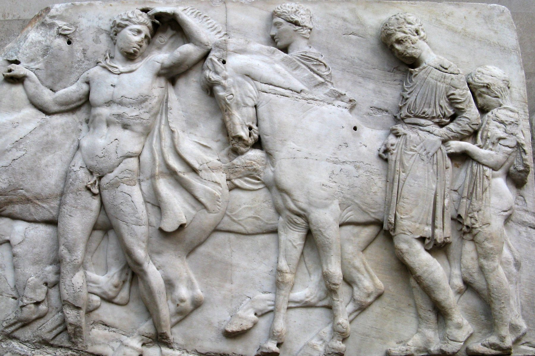 Two Horsemen, Elgin Marbles at the British Museum