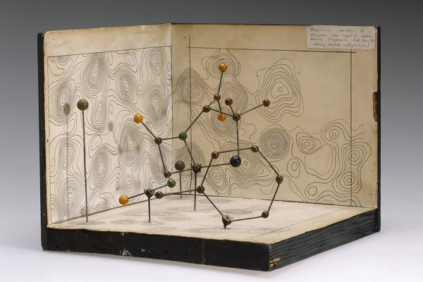 Molecular model of Penicillin by Dorothy Hodgkin, c.1945