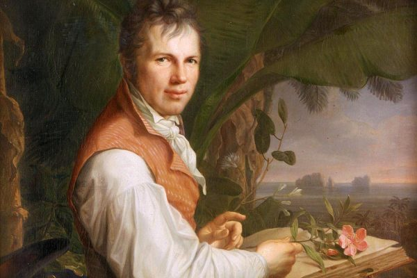 Portrait of Alexander von Humboldt by Friedrich Georg Weitsch