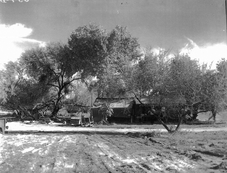 The Orozco homestead, which spanned the U.S.-Mexico border in what became Organ Pipe National Monument, was demolished by the National Park Service in the late 1950s