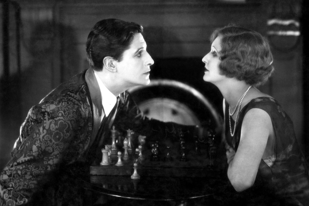 A still from The Lodger, 1927