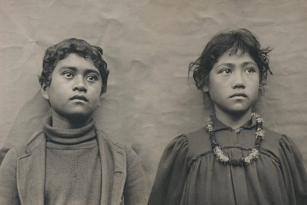 Native Hawaiian schoolchildren around 1900.