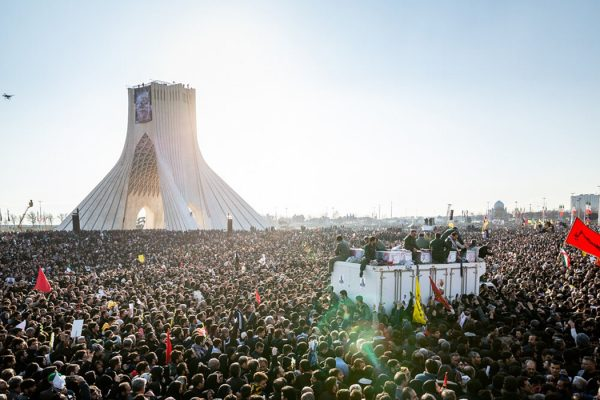 Funeral of Qasem Soleimani, Tehran, Iran on 6 January 2020.