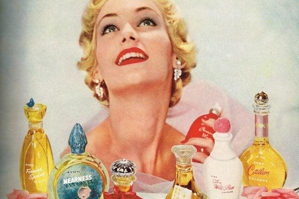 A vintage Avon advertisement