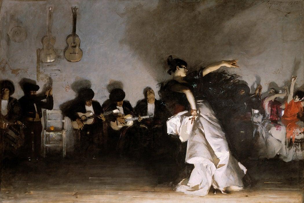 El Jaleo by John Singer Sargent, 1882