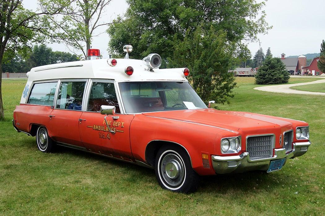 1971 Oldsmobile Ninety-Eight Ambulance