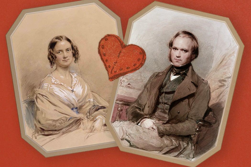 Emma and Charles Darwin