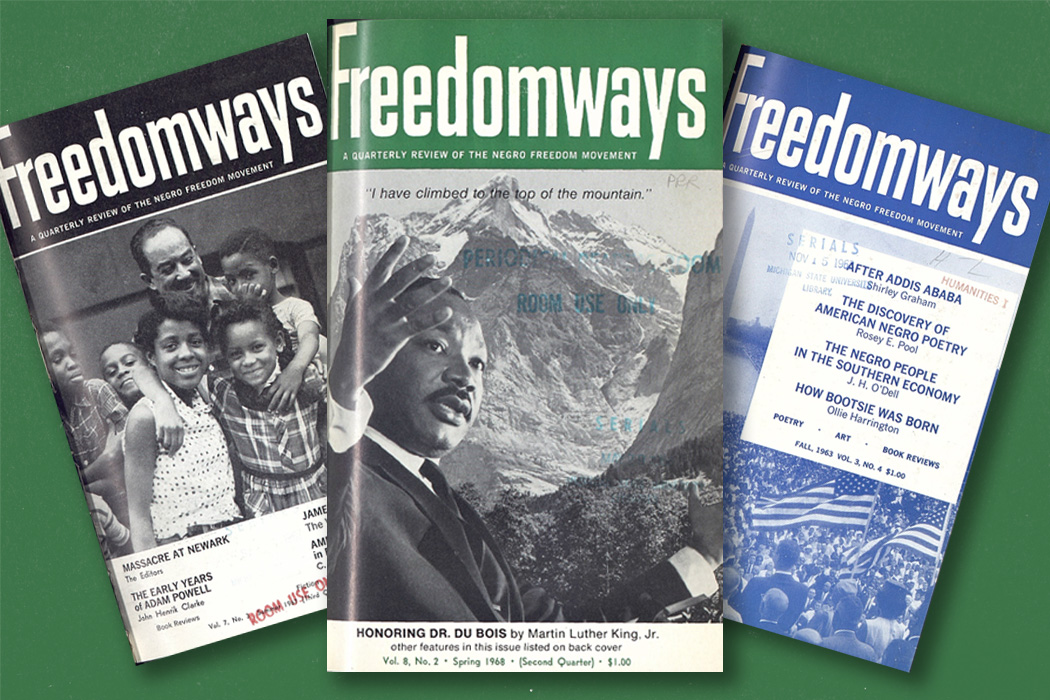 Three issues of Freedomways