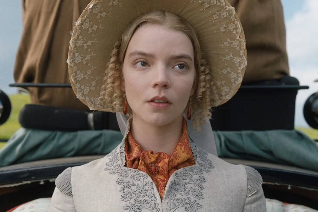 Photograph: Anya Taylor-Joy in the 2020 film Emma  Source: Focus Features