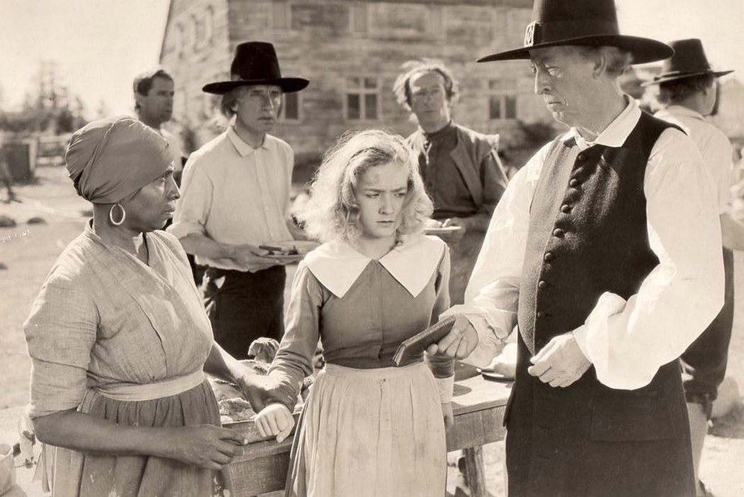 Madame Sul-Te-Wan (left) in Maid of Salem, 1937