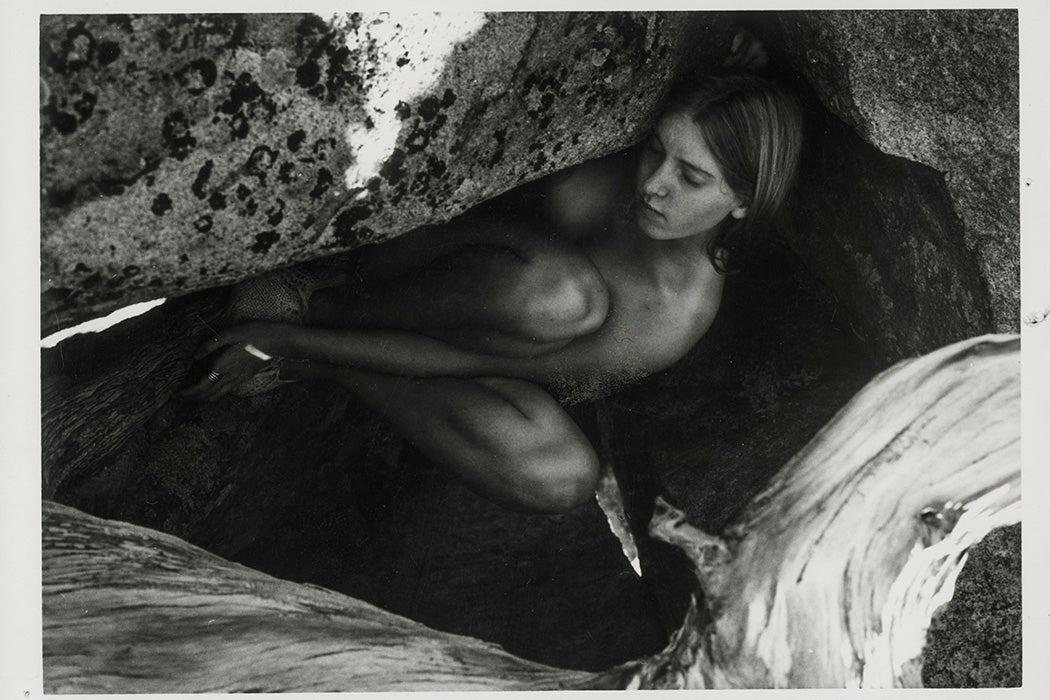 Francesca Woodman, Untitled photograph, circa 1975-1978. Gelatin silver print.