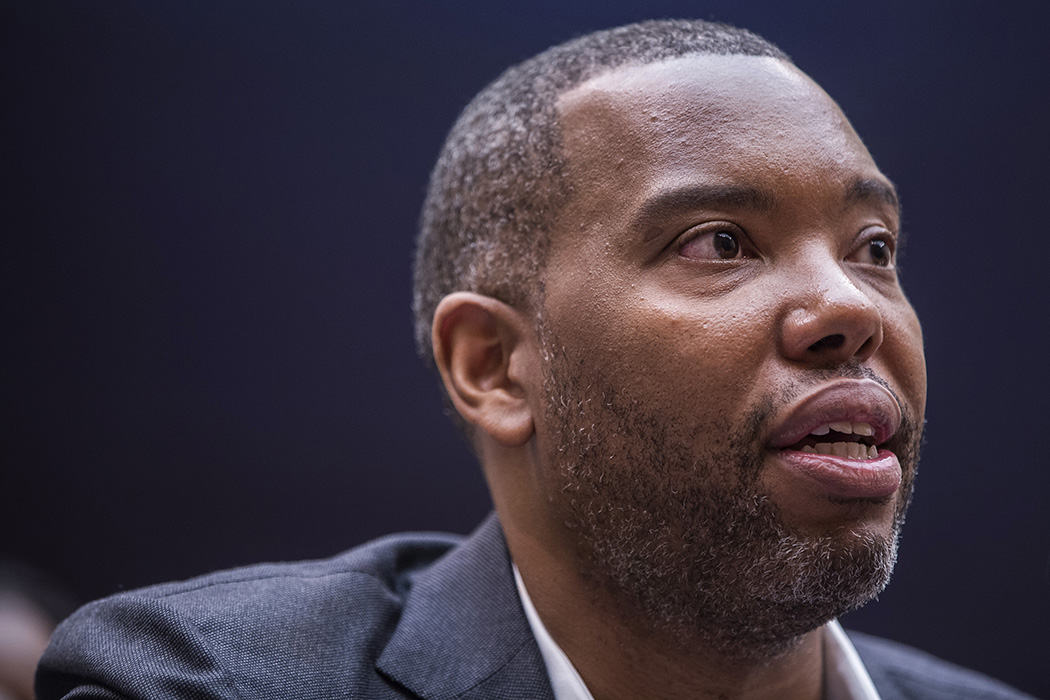 Writer Ta-Nehisi Coates testifies during a hearing on slavery reparations held by the House Judiciary Subcommittee on the Constitution, Civil Rights and Civil Liberties on June 19, 2019.