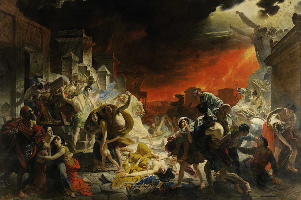 The Last Day of Pompeii by Karl Brullov