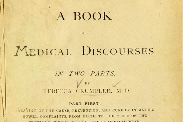 The cover page of Rebecca Lee Crumpler's book