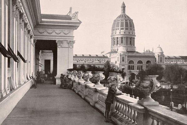 View from Balcony of Woman's Building at the World's Columbian Exposition, 1893