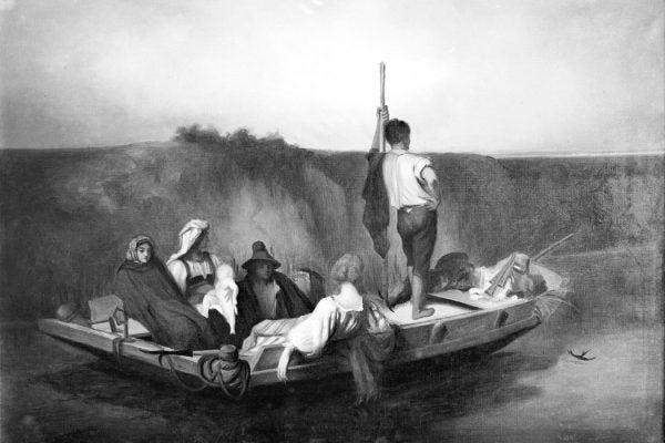 La Malaria by Auguste Hebert