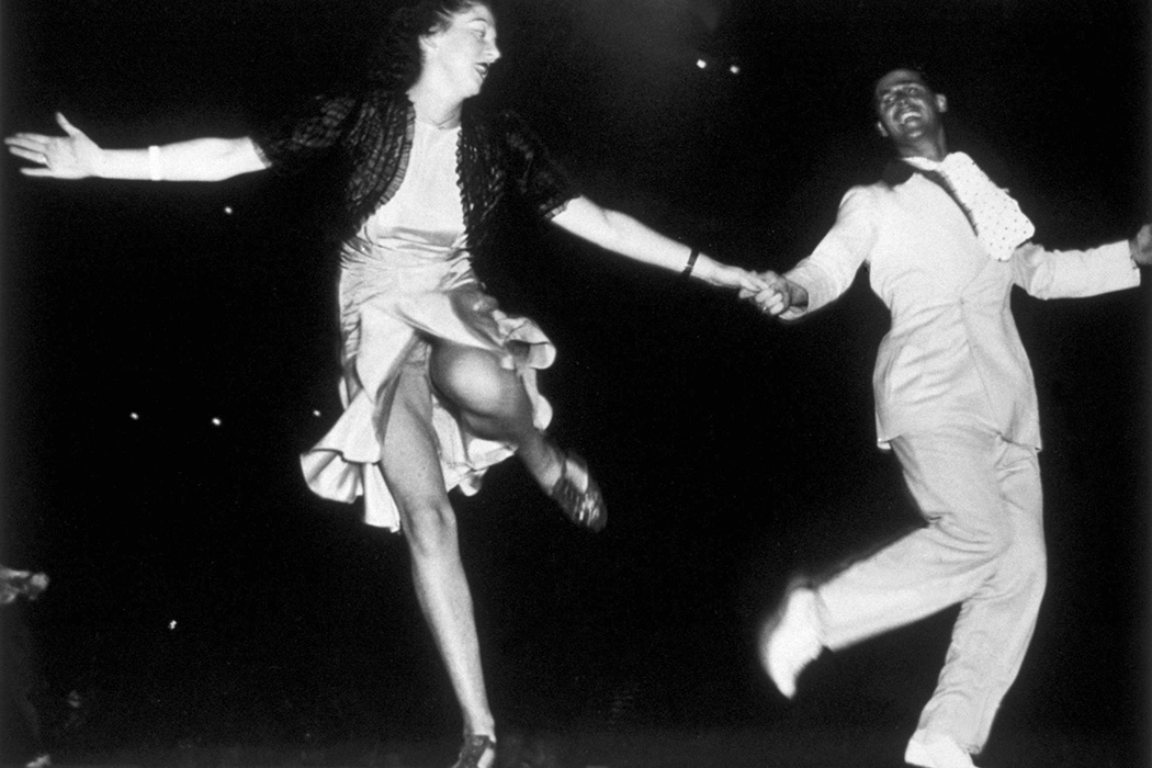 A couple dancing the Jitterbug circa 1938
