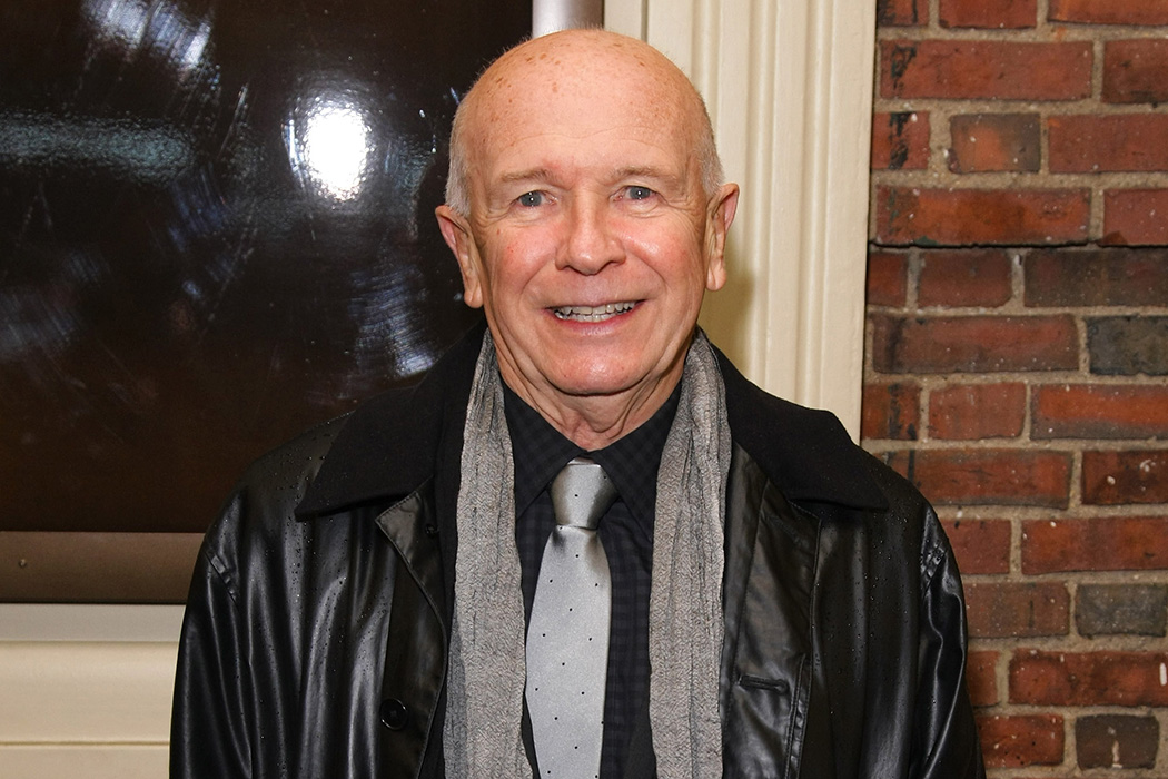 Playwright Terrence McNally in 2010