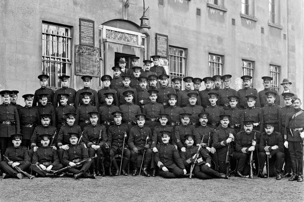 A group of Royal Irish Constabulary officers