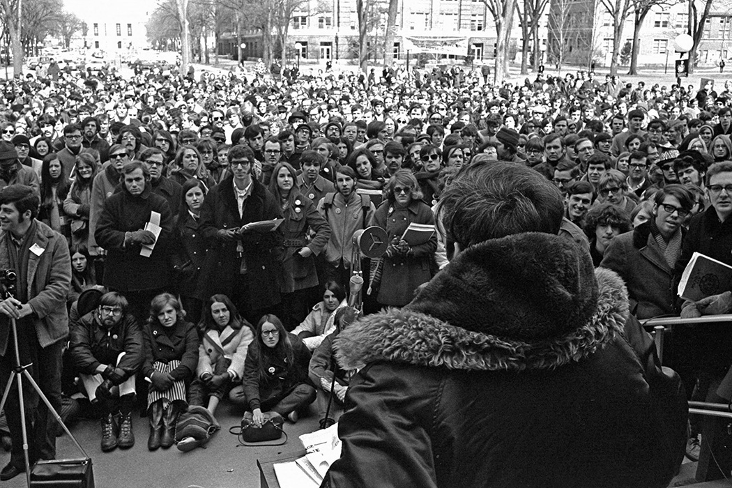Earth Day at the University of Michigan, 1970
