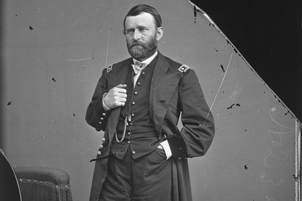Ulysses S. Grant between 1860 and 1865