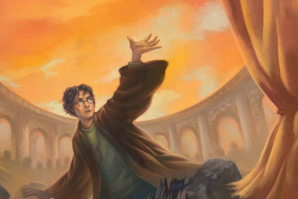 Deathly Hallows Cover