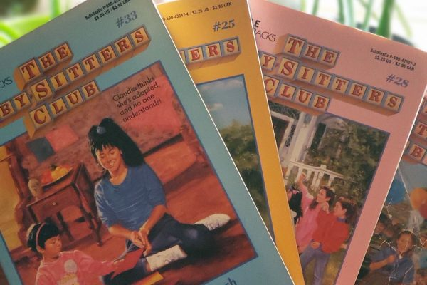 A few BabySitters Club Books