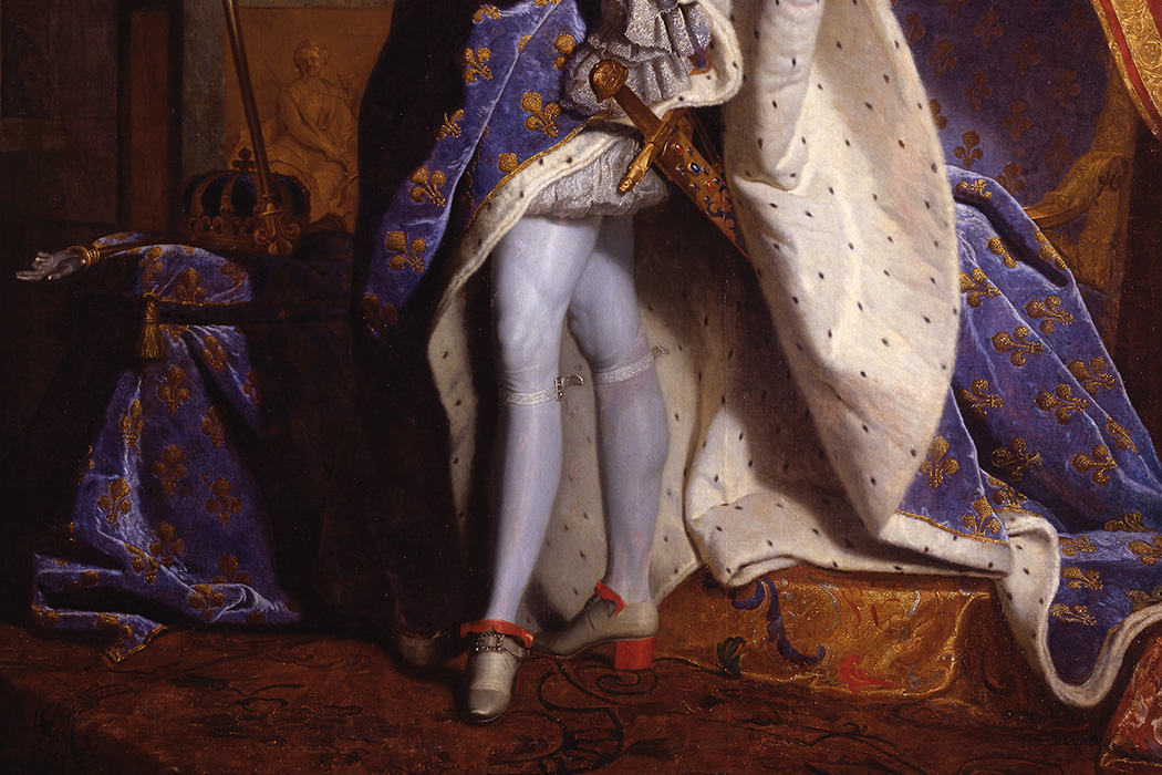 Louis XIV, King of France by Hyacinthe Rigaud