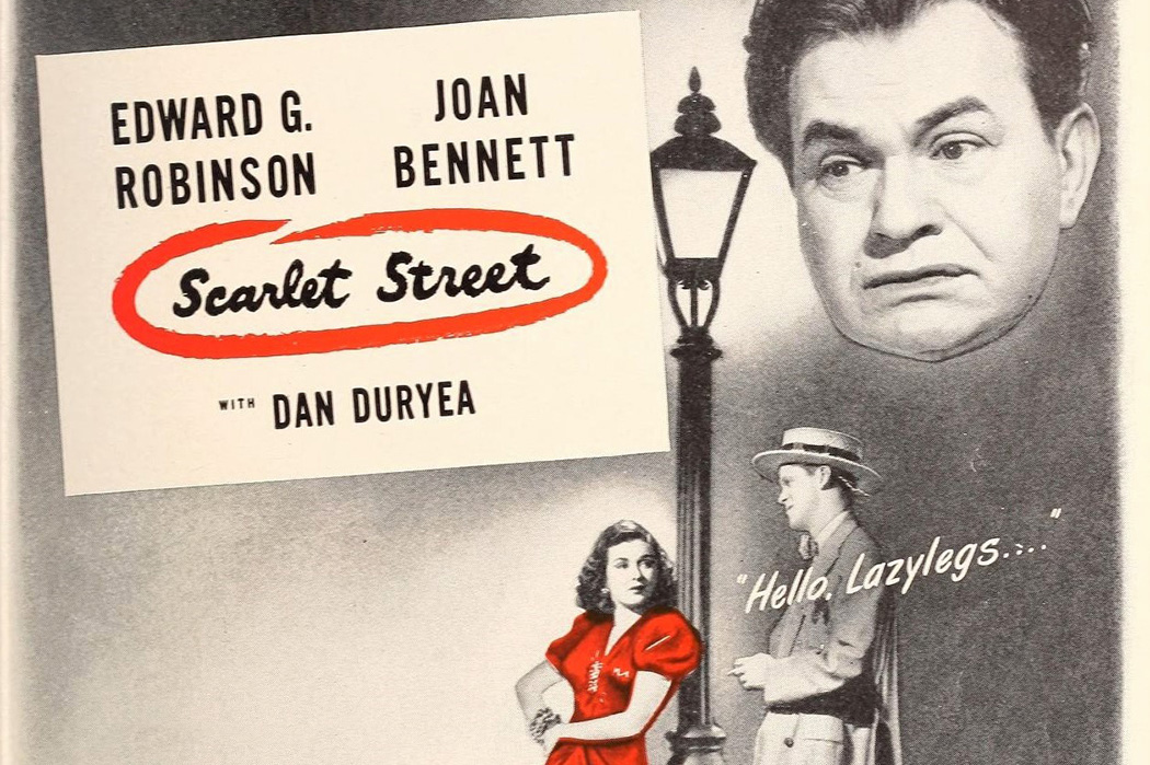 Source: https://commons.wikimedia.org/wiki/File:Edward_G._Robinson_and_Joan_Bennett_in_%27Scarlet_Street%27,_1946.jpg