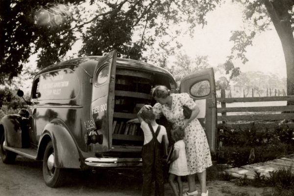WPA bookmobile
