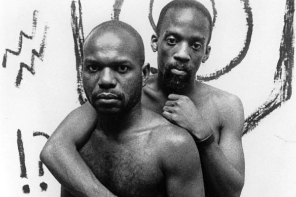 Marlon Riggs, left, and Essex Hemphill in Tongues Untied.